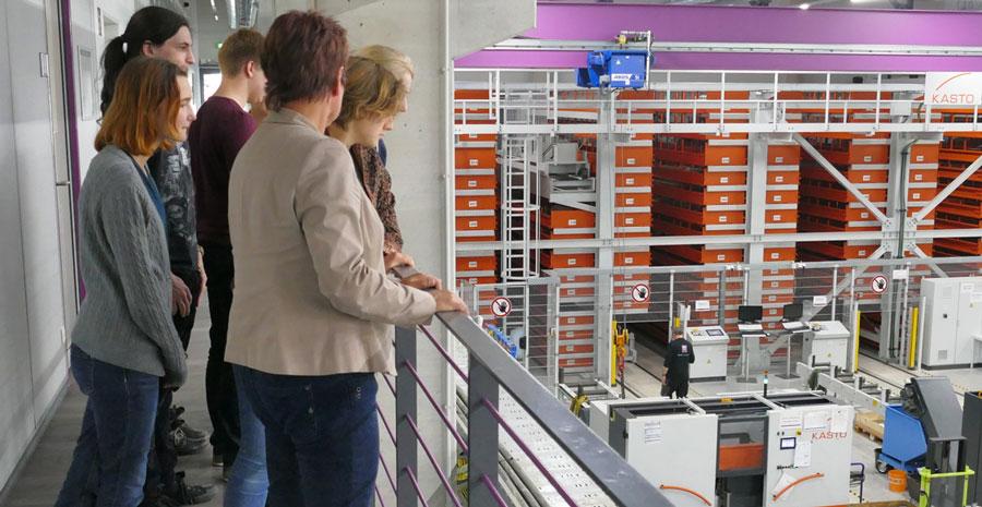 Studenten der Friedrich-Schiller-Universität Jena zum Praxisbesuch bei VACOM